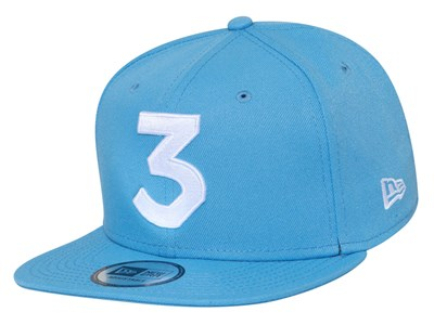 Chance The Rapper Music White Logo Sky Blue 9FIFTY High Crown Cap (ONLINE EXCLUSIVE)