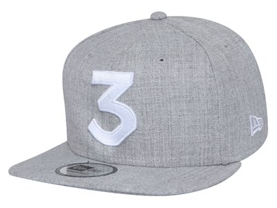 Chance The Rapper Music Stone Logo Heather Gray  9FIFTY High Crown Cap (ONLINE EXCLUSIVE)