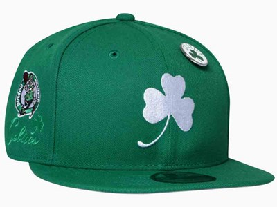 Boston Celtics NBA Team Scripted Green 9FIFTY Cap