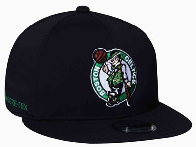 Boston Celtics NBA Gore-tex Waterproof Black 9FIFTY Cap