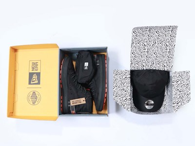 New Era Palladium Black Vapor Shoe and 9FORTY Cap Bundle