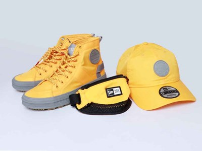 New Era Palladium Yellow Vapor Shoe and 9FORTY Cap Bundle