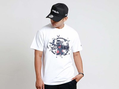 Itachi Uchiha Naruto White Short Sleeves T-Shirt