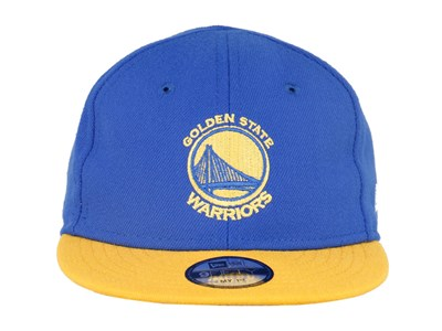 Golden State Warriors NBA My 1st 9FIFTY Blue Yellow Infant Cap