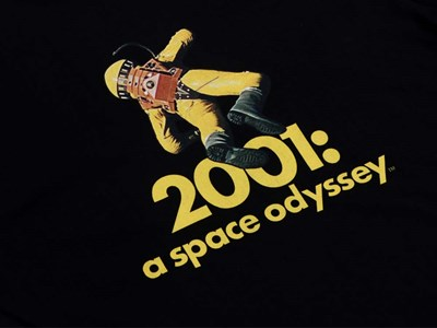 Frank Poole Astronaut Stanley Kubrick 2001: A Space Odyssey Black Short Sleeve Shirt