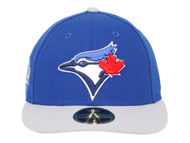 Toronto Blue Jays MLB Victory Side Low Profile Blue Gray 59FIFTY Cap