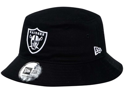 Oakland Raiders NFL Black Bucket Hat