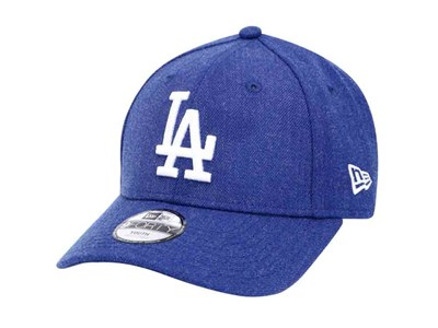 Los Angeles Dodgers MLB Heather Light Royal 9FORTY Youth Kids Cap