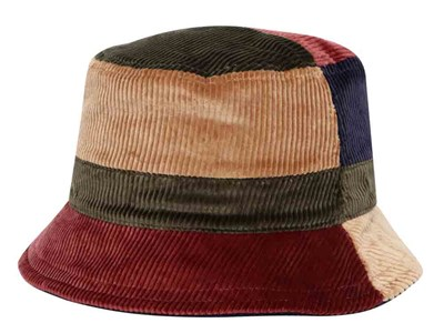 New Era Corduroy Ek Multicolor Reversible Bucket Cap