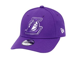 Los Angeles Lakers NBA Team Pop Purple 9FORTY Youth Kids Cap (LAST STOCK)