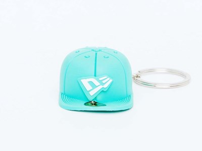 New Era Cap Green Keychain Accessory