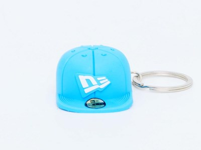 New Era Cap Blue Keychain