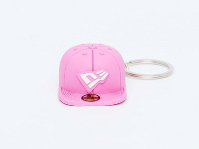 New Era Cap Pink Keychain
