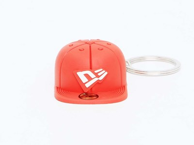 New Era Cap Red Keychain