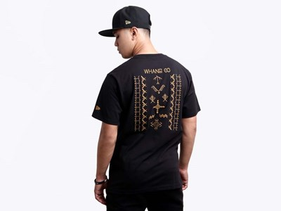 Butbut Symbols Whang Od Black Short Sleeve Shirt  (PHILIPPINE EXCLUSIVE)