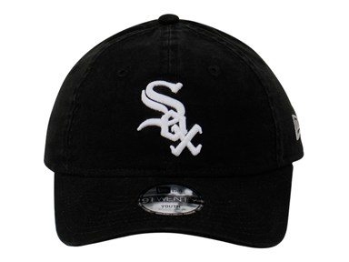 Chicago White Sox MLB Core Classic Black Youth 9TWENTY Cap