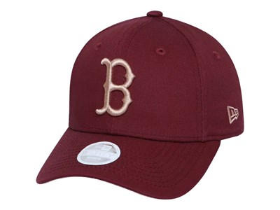 Boston Red Sox MLB Maroon  9FORTY Womens Cap