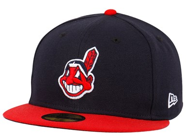 Shop New Era Exclusives and New Arrivals. Cleveland Indians MLB AC Navy  Blue Red 59FIFTY Cap (ESSENTIAL) ... 08d5710af