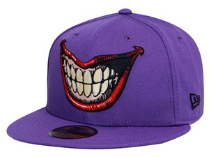 Joker Smile DC Purple 59FIFTY Cap (SIZE 7 LAST STOCK)