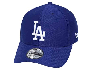 Los Angeles Dodfers MLB Team Hex Dark Royal 39THIRTY Cap