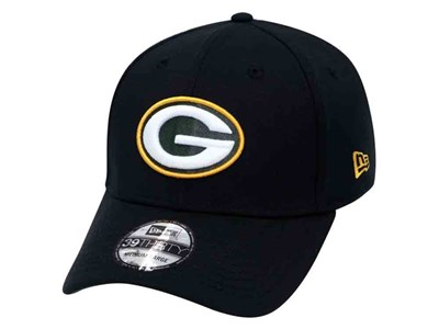 Green Bay Packers NFL Black 39THIRTY Cap