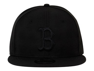 Boston Red Sox MLB Black on Black 9FIFTY Cap