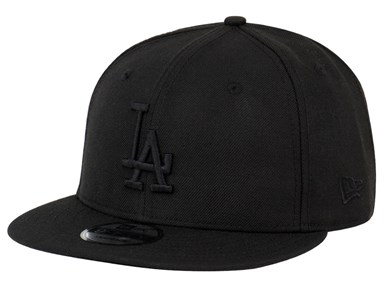 Los Angeles Dodgers MLB Black on Black 9FIFTY Cap (ESSENTIAL) ... 91d272fef43b