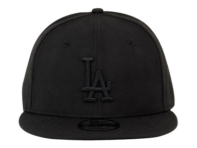Los Angeles Dodgers MLB Black on Black 9FIFTY Cap (ESSENTIAL)