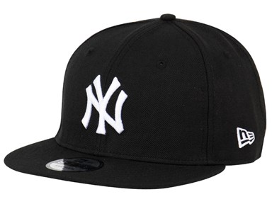 New York Yankees MLB Black 9FIFTY Cap (ESSENTIAL)