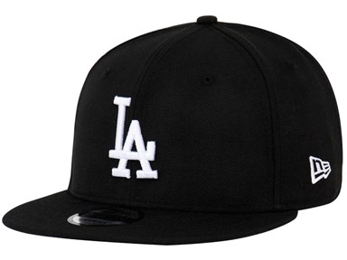 Los Angeles Dodgers MLB Black 9FIFTY Cap (ESSENTIAL) ... 0fd5e18de9e2