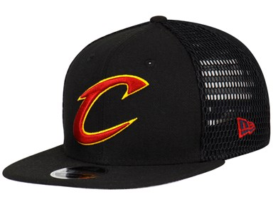 Cleveland Cavaliers NBA Mesh Fresh Black 9FIFTY Cap