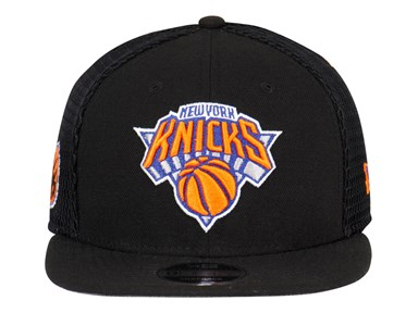 New York Knicks NBA Mesh Fresh Black 9FIFTY Cap