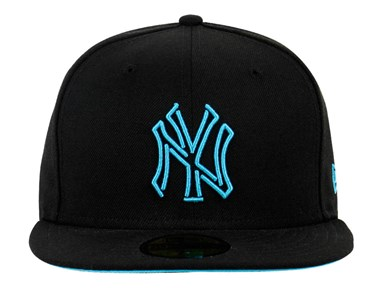 New York Yankees MLB Neon Black 59FIFTY Cap