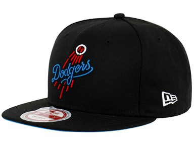 Los Angeles Dodgers MLB Neon Black 9FIFTY Cap