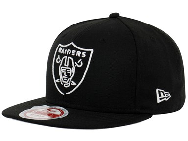 Oakland Raiders NFL Neon Black 9FIFTY Cap
