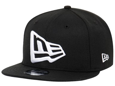 New Era Flag Black 9FIFTY Cap