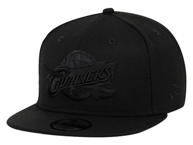 Cleveland Cavaliers NBA Black on Black 9FIFTY Cap
