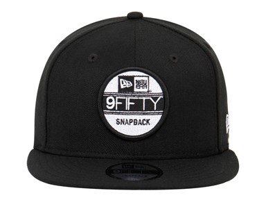 New Era Sticker Black 9FIFTY Cap
