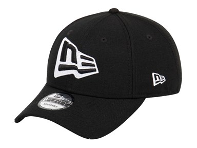 New Era Flag Black 9FORTY Cap
