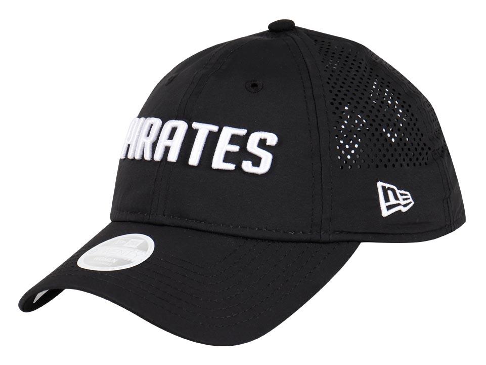 Pittsburgh Pirates MLB Team Tagged Black 9TWENTY Womens Cap  bb10e20d5723