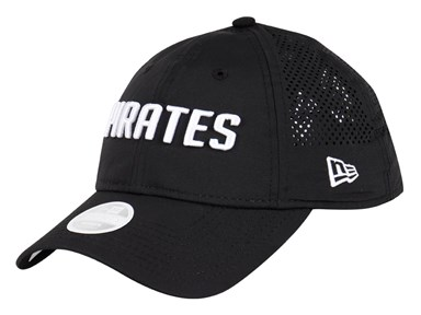 Pittsburgh Pirates MLB Team Tagged Black 9TWENTY Womens Cap