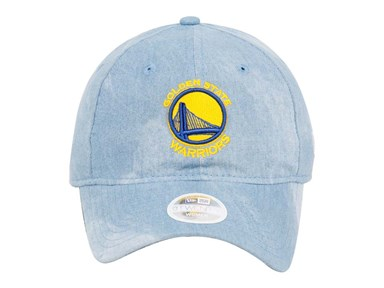 Golden State Warriors NBA Denim Chic Blue 9TWENTY Womens Cap