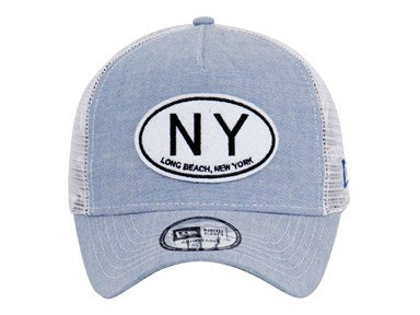 New Era Chambray Blue 9FORTY Cap