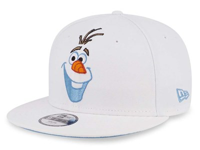 Olaf Disney Frozen White 9FIFTY Youth Kids Cap