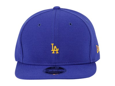 Los Angeles Dodgers MLB  Border Edge Pique Blue 9FIFTY Cap
