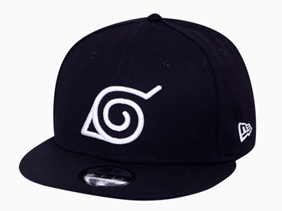 Konoha Hidden Leaf Village Naruto Navy 9FIFTY Cap