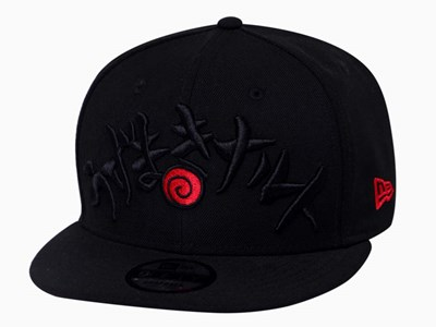 Uzumaki Clan Naruto Black 9FIFTY Cap