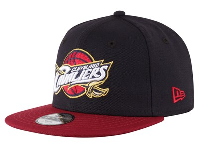 Cleveland Cavaliers NBA Black Red 9FIFTY Youth Cap