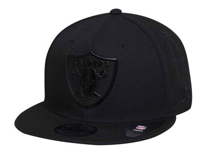 Oakland Raiders NFL Metal Texture Black 9FIFTY Cap