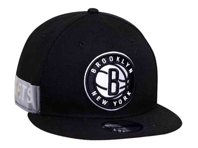 Brooklyn Nets NBA Clear Feature Black 9FIFTY Cap